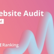 How to quickly do an SEO Website Audit in SE Ranking