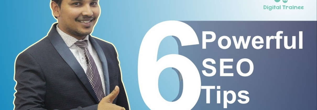 6 Powerful SEO Tips & Tricks For Website To Rank First On Google   SEO tutorial for beginners