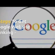7 Steps To Get Google Website Ranking - Money Making Moms