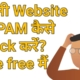 Check Your Website Spam Score? Ranking? Backlinks?