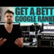 How To Get A Better Google Ranking For Your Business