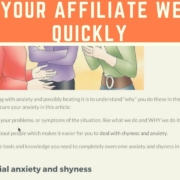 How To Rank Your Affiliate Website Quickly (Affiliate Website Tutorial)