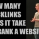 How many backlinks does it take to rank a website? | Stacy Flick
