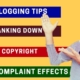 Seo and Blogging Tips - DMCA Complaint effects, Alexa Ranking down,  Copyright on Website #Okeyravi