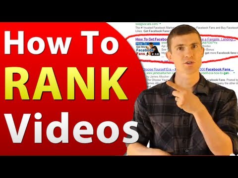 Video SEO - How To Rank Videos In Google and YouTube