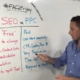What's the difference between SEO vs PPC?
