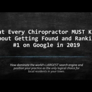 2019 SEO Tips for Chiropractors That Increase Google Rankings
