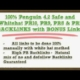 Are you looking Manual PR9 High Authority Backlinks for Ranking Up Site or Video