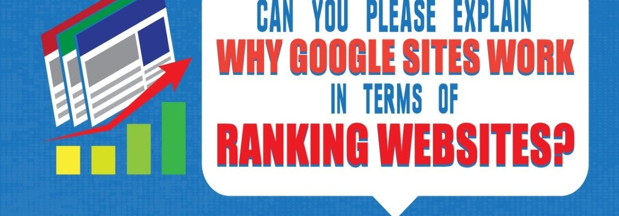Can You Please Explain Why Google Sites Work In Terms Of Ranking Websites?