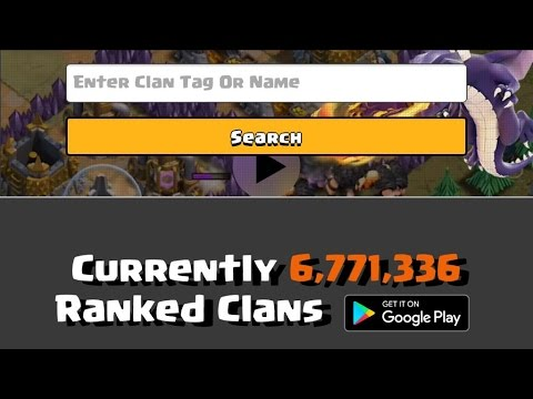Clash of Clans - BEST Website To Rank Any Clan! Statistics Ranking & More!
