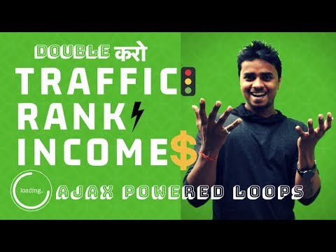 Double The TRAFFIC, RANK AND INCOME of your Website with Ajax Loop (▀̿Ĺ̯▀̿ ̿) - The Nitesh Arya
