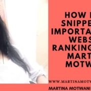 How Rich Snippets is important for website Rankings?By -Martina Motwani