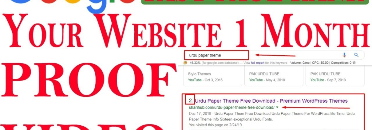 How To Rank Fresh Website in Google with Live Proof | SEO | Rank Website in Google