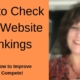 How to Check Your Website Rankings