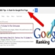 How to improve the Google Search Engine rankings of your Website