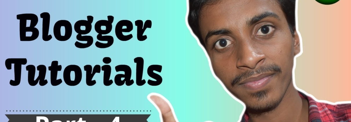 [Part 4] Blogger Tutorial Series in Hindi - SEO Setting in Blogger
