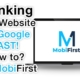 Ranking your website on google fast!
