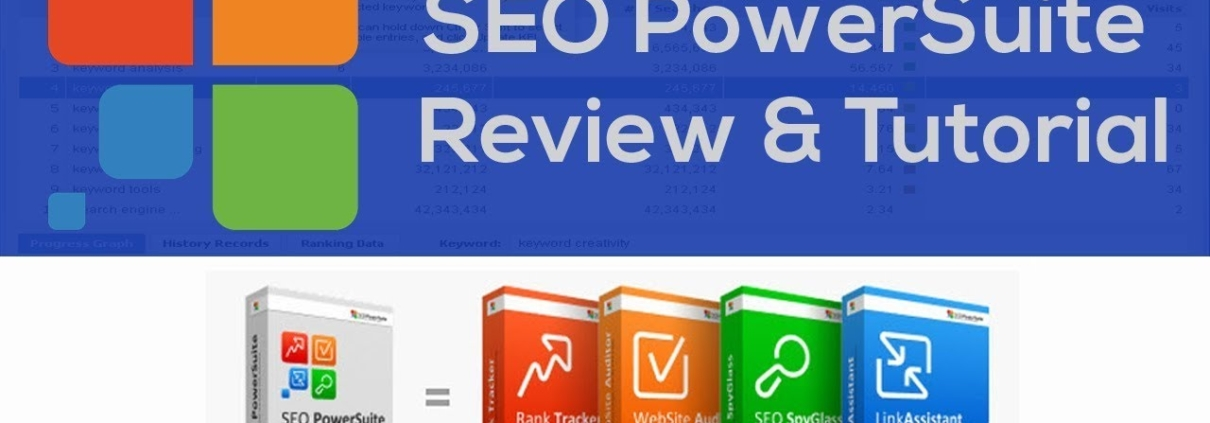 SEO Powersuite Review | All in one SEO software - Rank Tracker ,WebSite Auditor, LinkAssistant