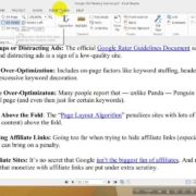 Search Engine Ranking Factor (On Page Web Spam Factor) part 9