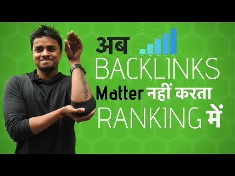 Content Vs Backlinks - What's Matter Most in Google RANKING?