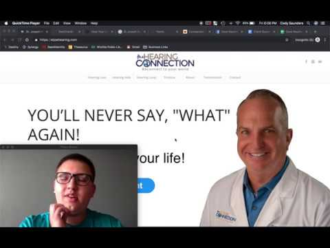 For Dave Newmann - Explanation of SEO Process for the Hearing Connection - July 5, 2019