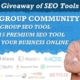 Giveaway of Group SEO Tool   Top 15 Premium SEO Tools for Grow your Business Online [Hindi]