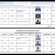 How to check Rank List in Icmai website | Intermediate | Final | icmai.in