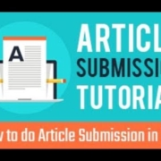 How to do Article Submission in SEO | Article Submission Tutorial | Article Submission in SEO