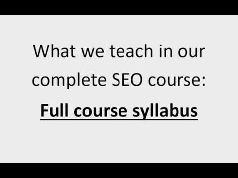 Introduction to Purpalyn complete SEO Course