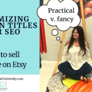 Optimizing Section Titles For SEO:  How To Sell Vintage On Etsy