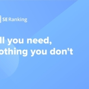 SE Ranking – all-Inclusive cloud-based SEO software