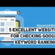 Top 5 Excellent Websites for Checking keyword Ranking