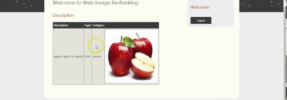 Web Image Re-Ranking Using Query-Specific Semantic Signature