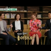 【TVPP】Jung-Eum,Seo-Jun,Jun- Hee,Siwon- 'She Was Pretty', 정음, 서준, 준희, 시원 - 그.예 인터뷰 @Section TV