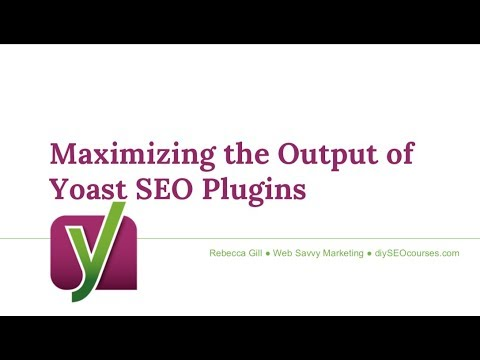 Maximizing the Output of the Yoast SEO Plugins