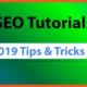 SEO for Beginners 2019