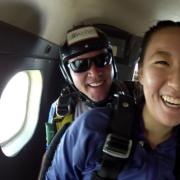 Tandem Skydiving! Ye Seo Park from Flushing, NY at Skydive Georgia!